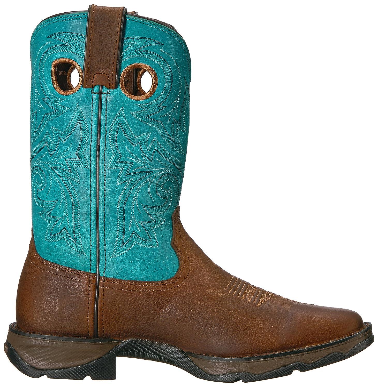 Durango Women's Dwrd016 Western Boot B073Y9HFMC 11 B(M) US|Brown/Turquoise