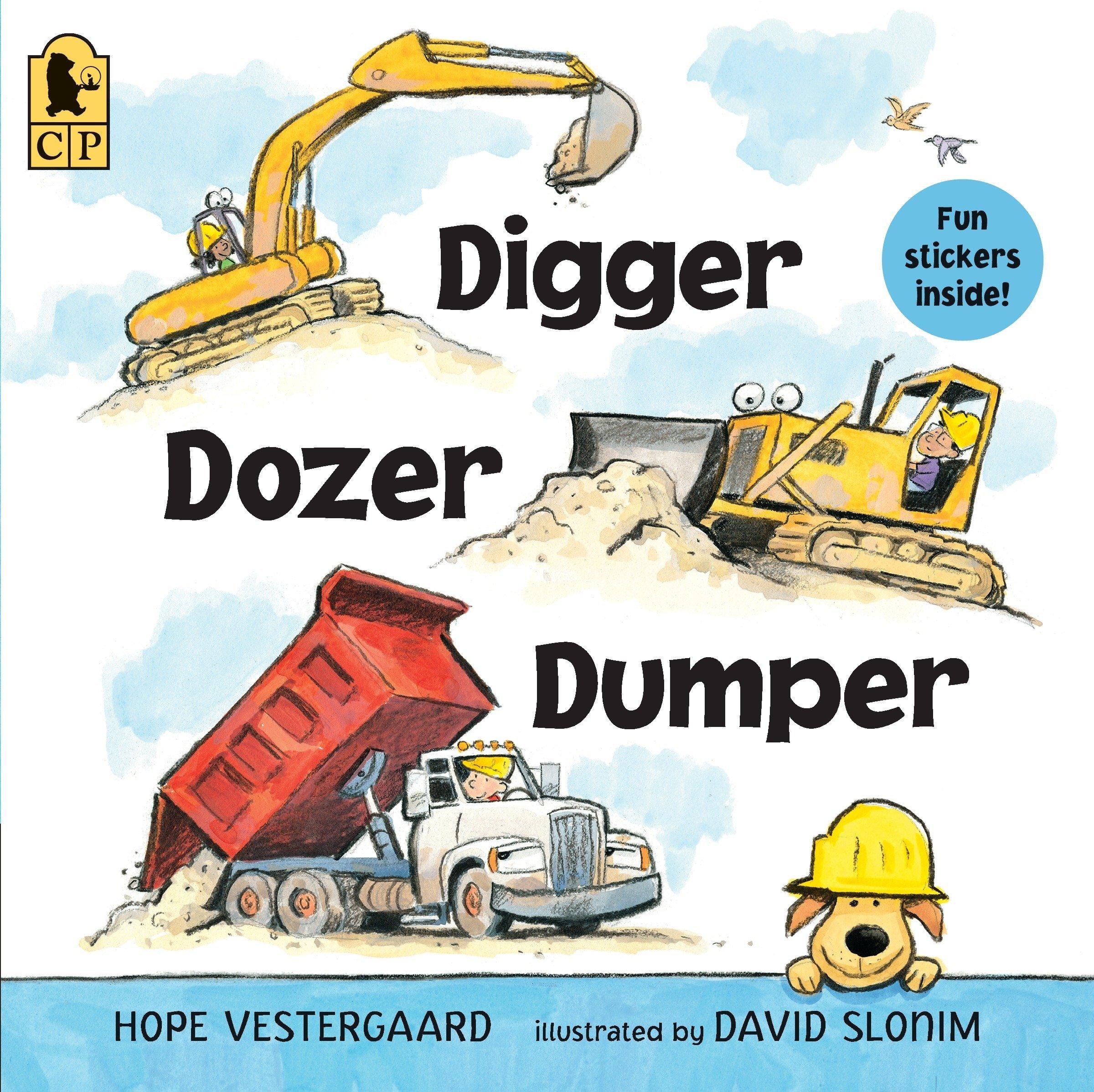 Read Online Digger, Dozer, Dumper ebook