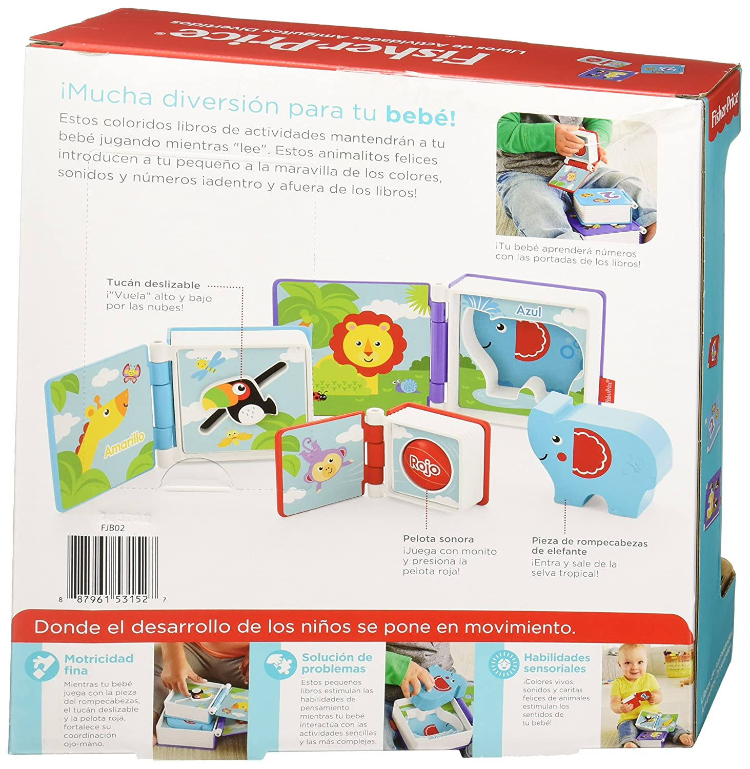 Fisher Price Libros de Actividades Amiguitos Divertidos: Amazon.com ...