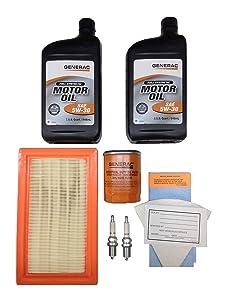 Generac Maintenance Kit 990 14-17KW 5W30 SN EVL Part# 0J93220SSM
