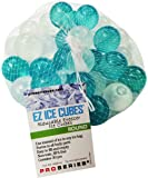 EZ Ice Cubes - Round - Reusable Freezer Ice Cubes (30 pieces per net) - Use for Cold Therapy / Pain Relief or Keep Your Drinks Cool