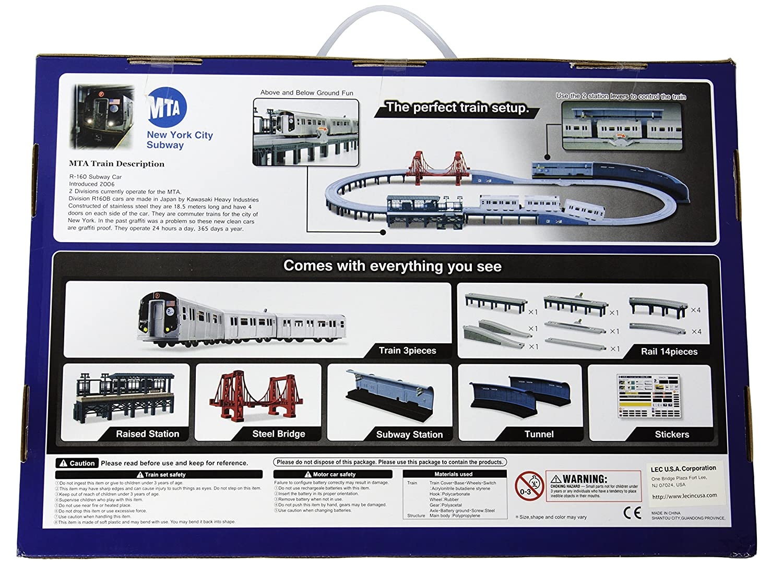 Amazon.com: LEC USA 2000 MTA New York City Subway Battery Operated ...