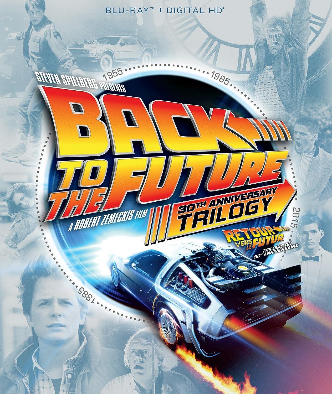 Back to the Future 30th Anniversary Trilogy [Blu-ray + Digital HD] (Bilingual) Michael J. Fox Christopher Lloyd Robert Zemeckis