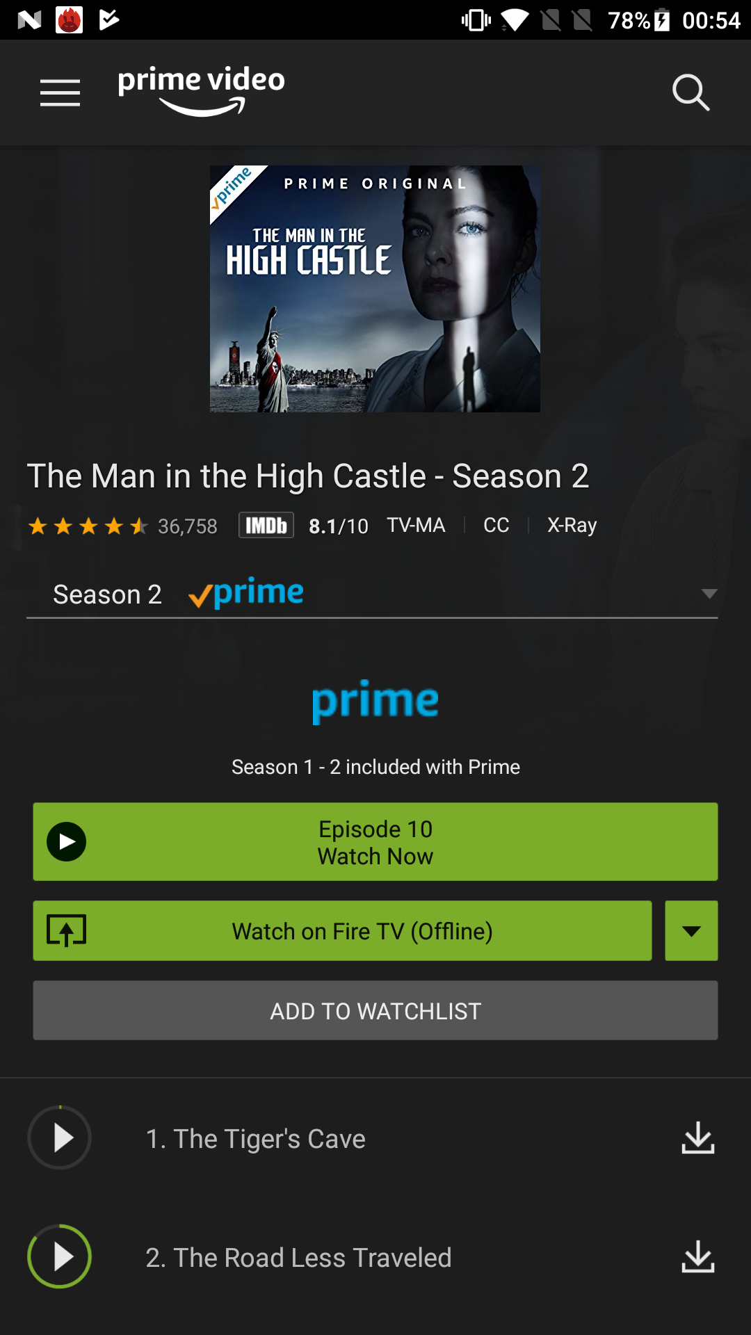 Amazon.com: Amazon Prime Video: Appstore for Android