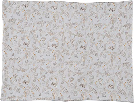 Soulwell Bebé Funda de almohada de algodón orgánico Súper Suave Respirable Lindo Colorido Calidad Premium GOTS certificado vivero Ropa de cama cuna Almohada para niños pequeños 33 x 45 cm (Animales): Amazon.es: