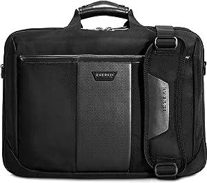 Everki Versa Premium Checkpoint Friendly Laptop Bag - Briefcase, Upto 17.3-Inch (EKB427BK17), Black