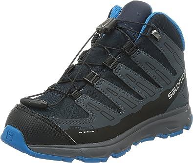 SALOMON Trail Synapse Mid CSWP, Chaussures de Randonnée Hautes Mixte Enfant