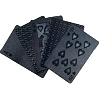Trademark 10-BL-EM Poker Embossed Playing Cards, Devil Black