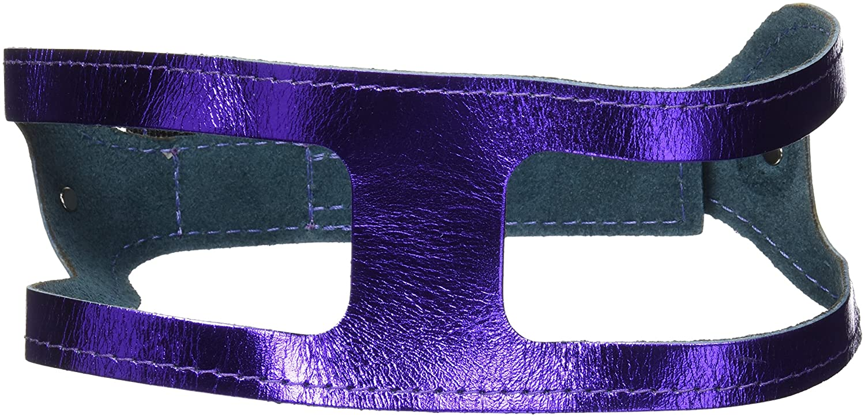 Metallic Purple 21 ChokeFree Pet Shoulder Collar, 27Inch, Non Metallic Baby bluee