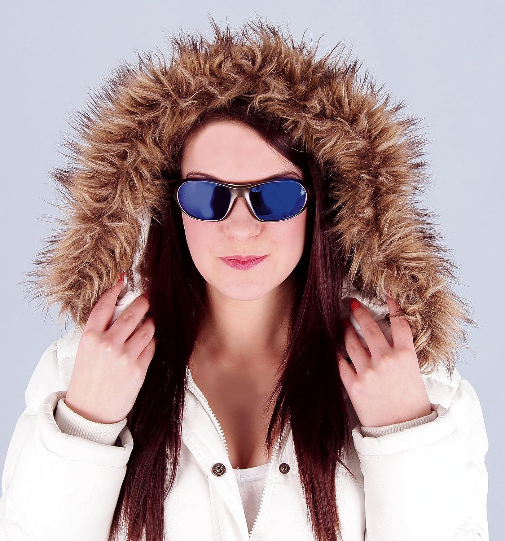 Skibrille und Snowboardbrille F/ür Herren und Damen Rapid Eyewear Aspen blau verspiegelt SPORT SONNENBRILLE und brillenband UV schutz 400 Gletscherbrille Perfekte Klettern brille