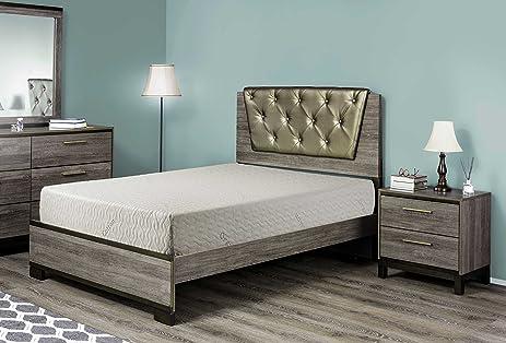 best 2 rest 10 inch natural latex foam mattress queen with organic cotton cover u2013 10