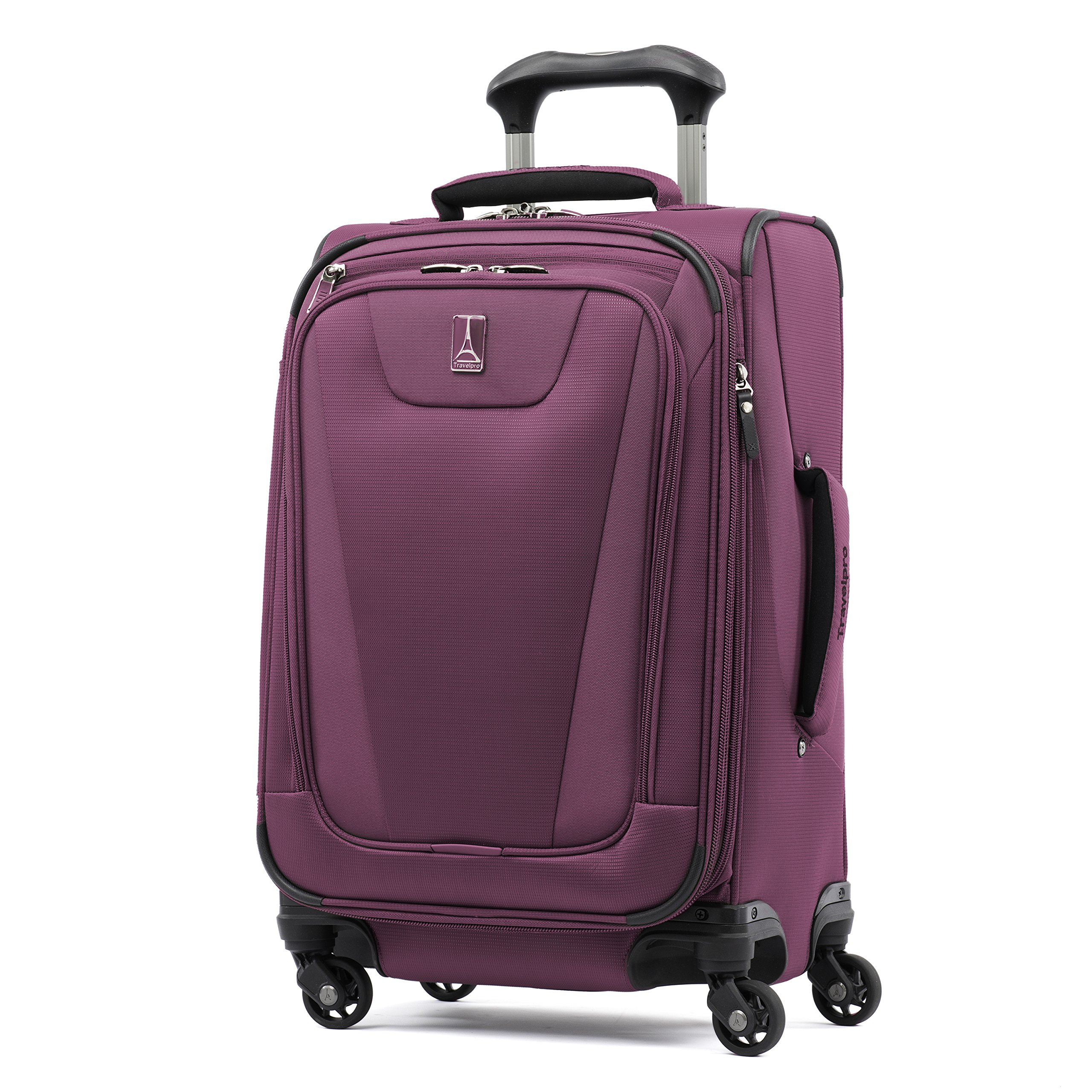 Travelpro Maxlite 4 Expandable 21 Inch Spinner Suitcase, Magenta