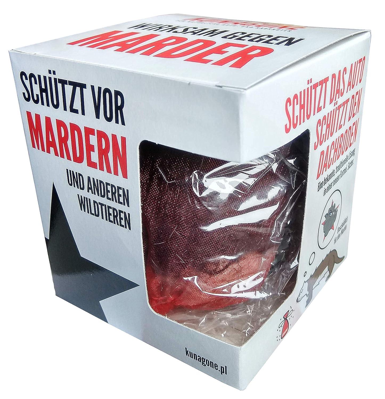 nat/ürlicher Feind patentiertes Produkt zur Abschreckung von Mardern Kunagone Es l/öst einen nat/ürlichen Hundegeruch