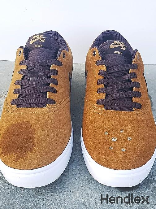 Hendlex Wildleder Nano Spray Imprägnierspray Schuhe Für Nubuk Lederpflege und Wildleder pflege 100ml: Amazon.es: Zapatos y complementos