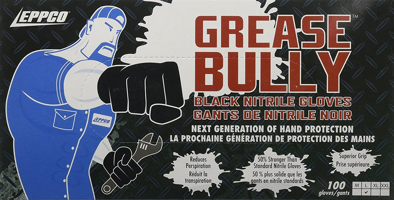 Black latex gloves xl - Amazon Com Eppco 10045 Grease Bully Black Nitrile Gloves Xl Health Personal Care
