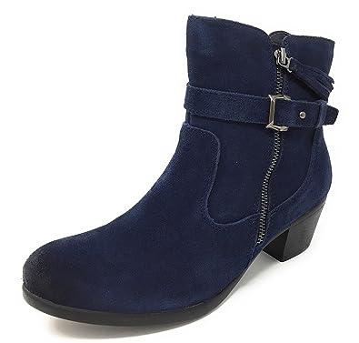 d4faa338840c7 Earth Origins Women's Tori Navy Ankle Boot