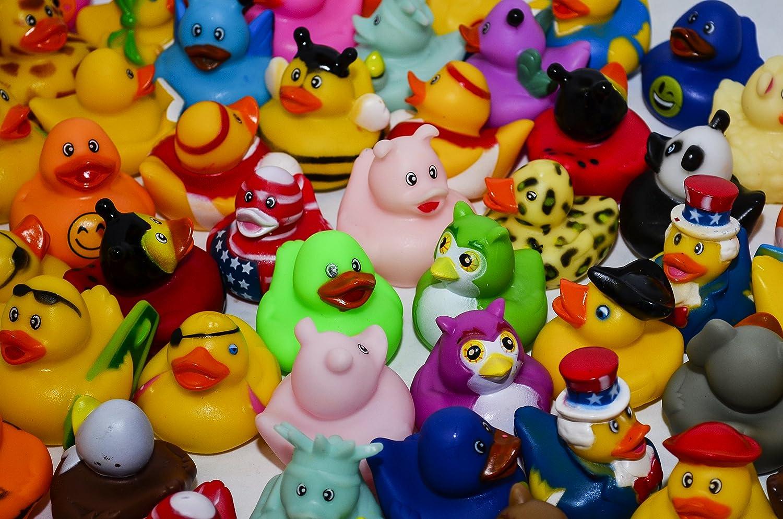 Amazon.com: West End Studios Rubber Duck Assortment for Happy ...