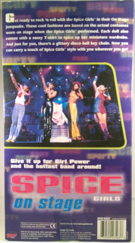 Amazon.es: Spice Girls Scary Spice On Stage Doll: Juguetes y juegos