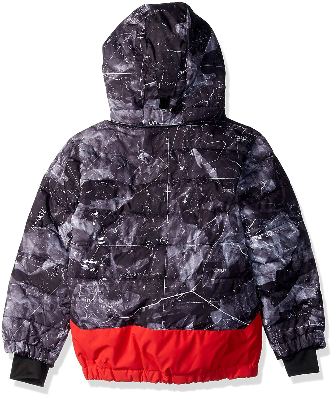 Quiksilver Boys Edgy Kids 10k Grow System Snow Jacket EQKTJ03008