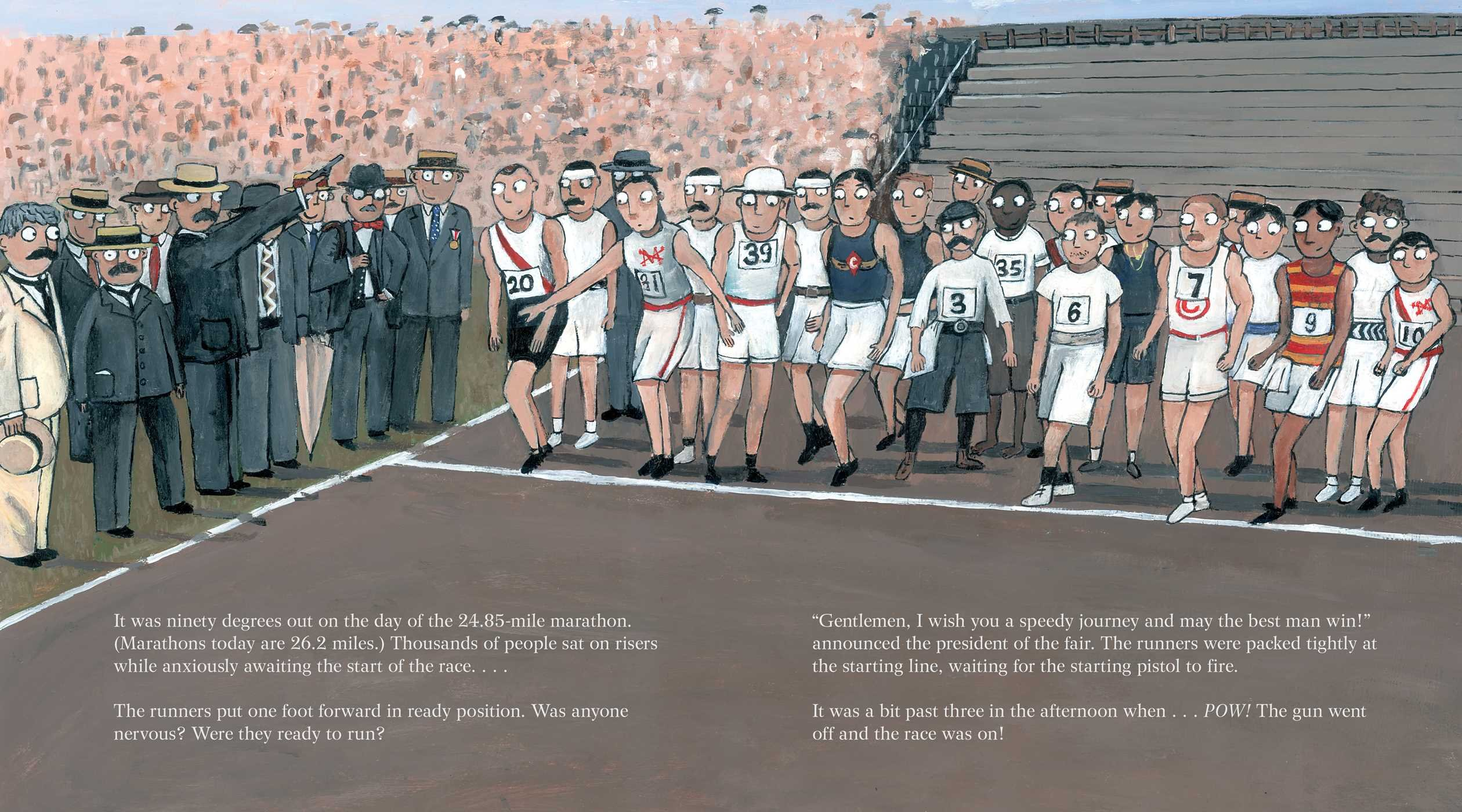 The Wildest Race Ever: The Story of the 1904 Olympic Marathon by Simon & Schuster/Paula Wiseman Books (Image #4)