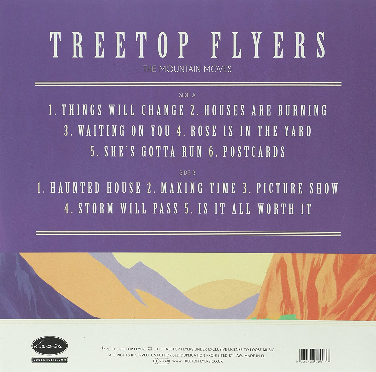 amazon mountain moves 12 inch analog treetop flyers 輸入盤