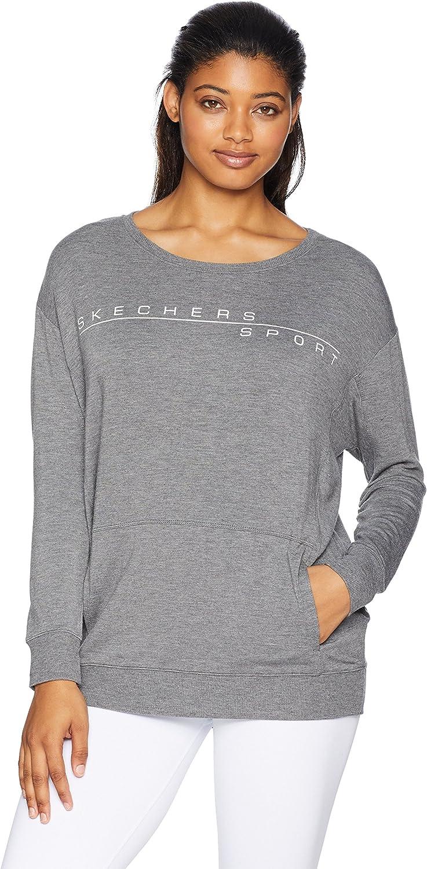 Skechers Women's Basic Crewneck Fleece