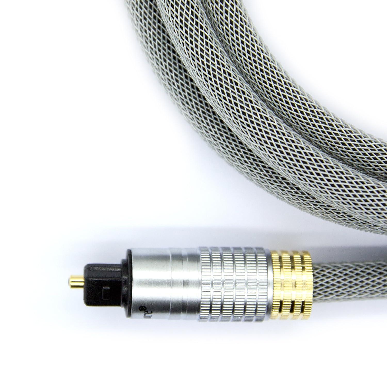 /Premio Ultimate/ LINK CABLE STORE LCS/ /Audio Digitale/ /Bianco Professionale/ /schermato//tr/éss/é//&n /5/m/ Toslink//–/Cavo Ottico SPDIF