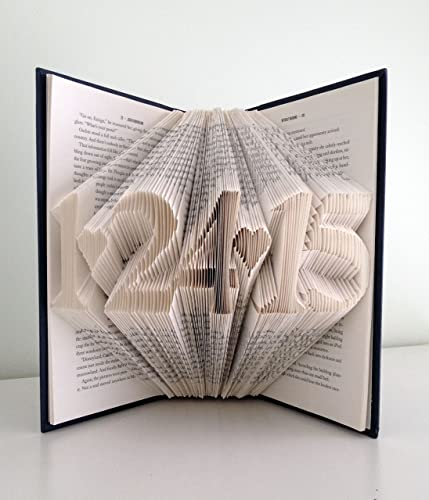 Amazon First Wedding Anniversary Present Folded Book With