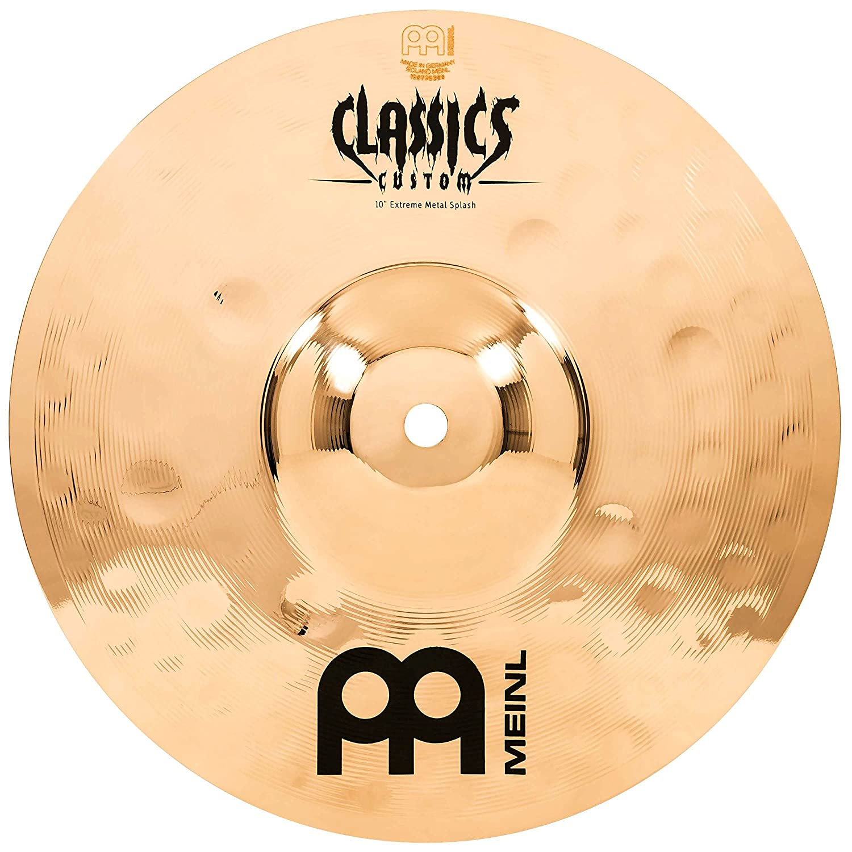 Meinl Cymbals CC10EMS-B Classics Custom Extreme Metal 10-Inch Brilliant Splash
