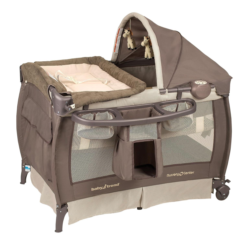 Amazon Baby Trend Deluxe Nursery Center Haven Wood Baby