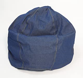 product image for Bean Products Comfy Bean Beanbag Small Cotton - Indigo