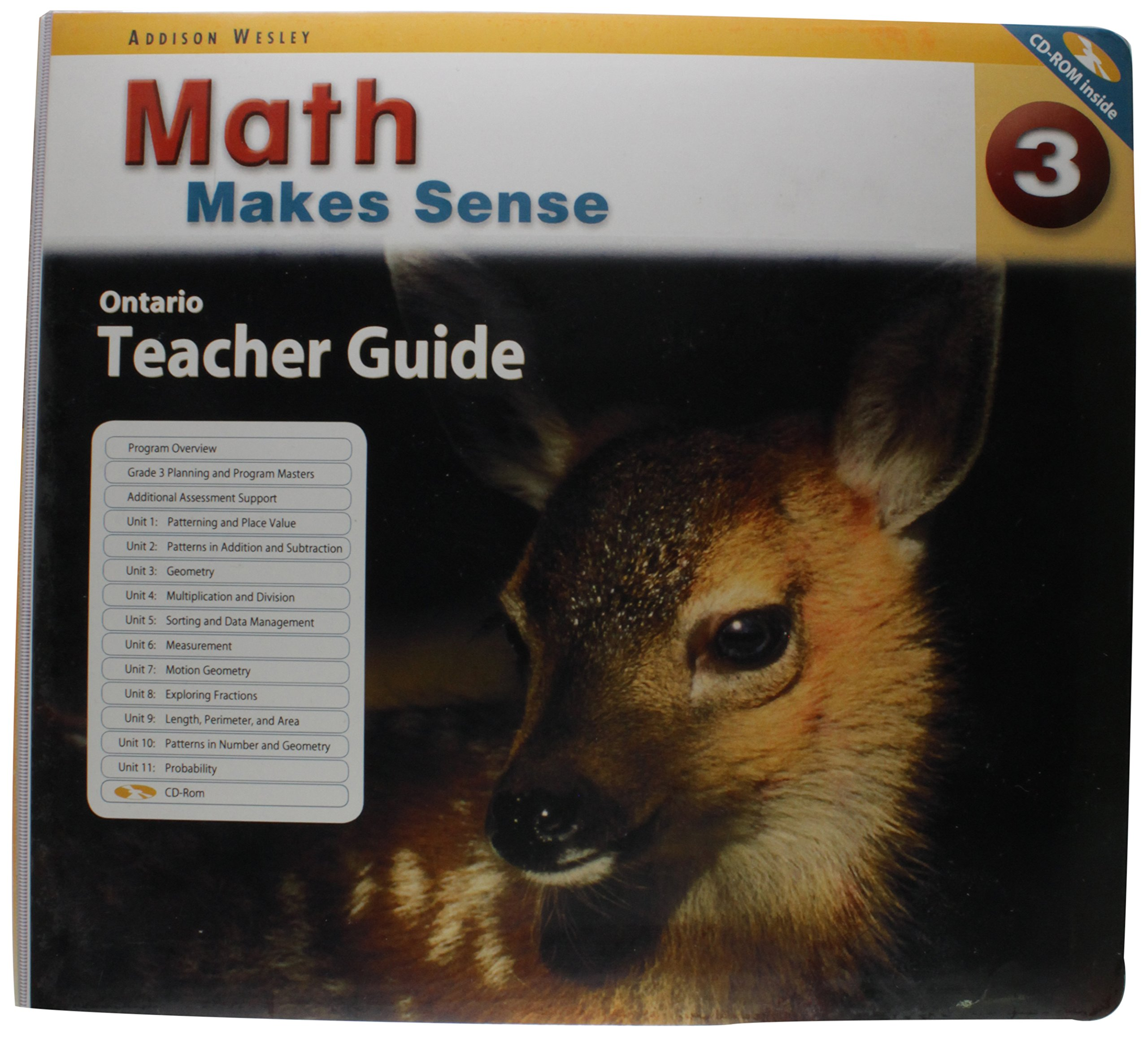 math makes sense 3 teacher s guide cd rom ontario edition rh amazon ca math makes sense grade 5 teacher guide pdf math makes sense 5 teacher guide