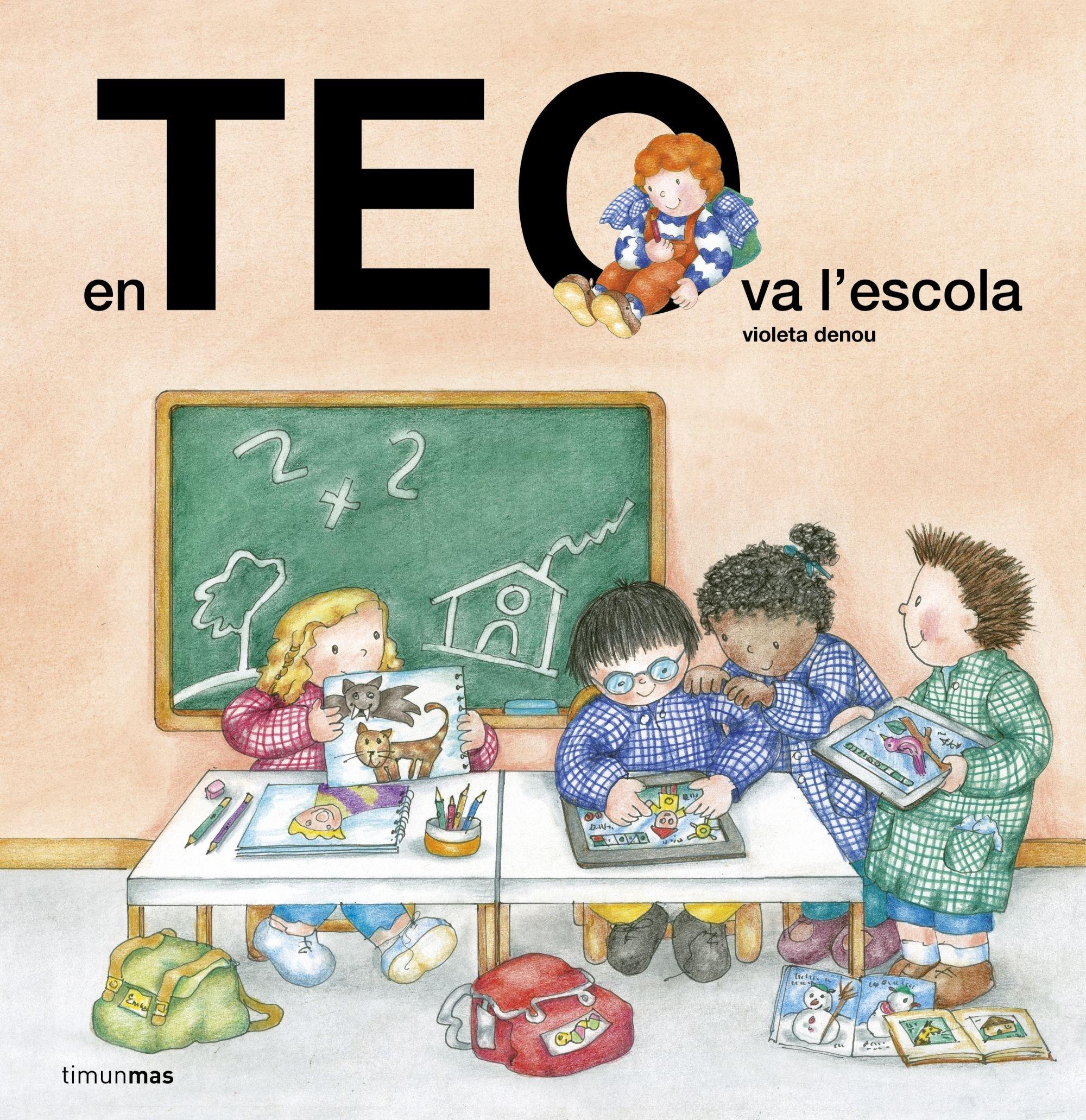 En Teo va a lescola (Spanish) Hardcover – 2017