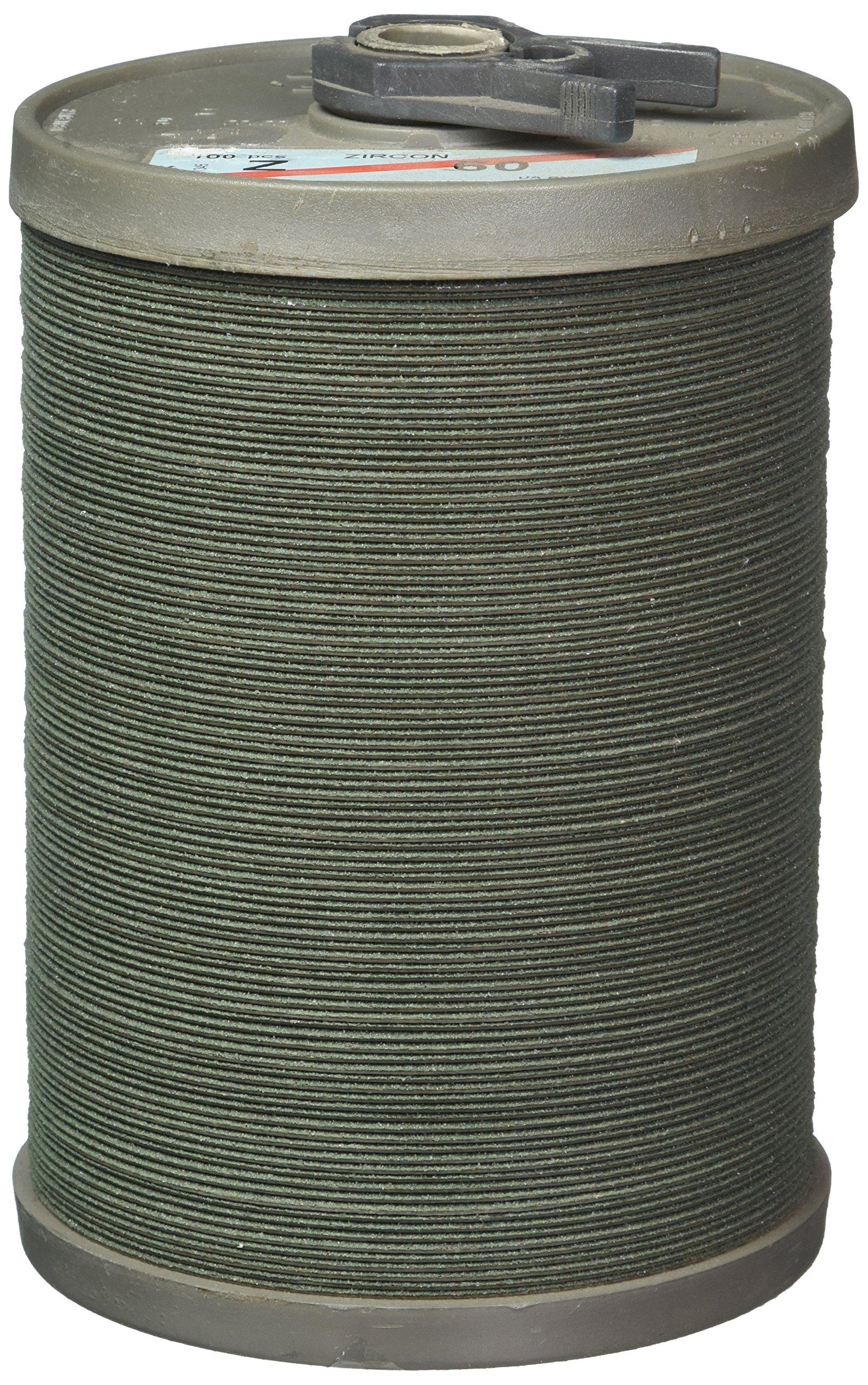 United Abrasives-SAIT 59260 SAIT Fiber Disc, Z 4-1/2 X 7/8 60X Bulk Disc, 100 Pack