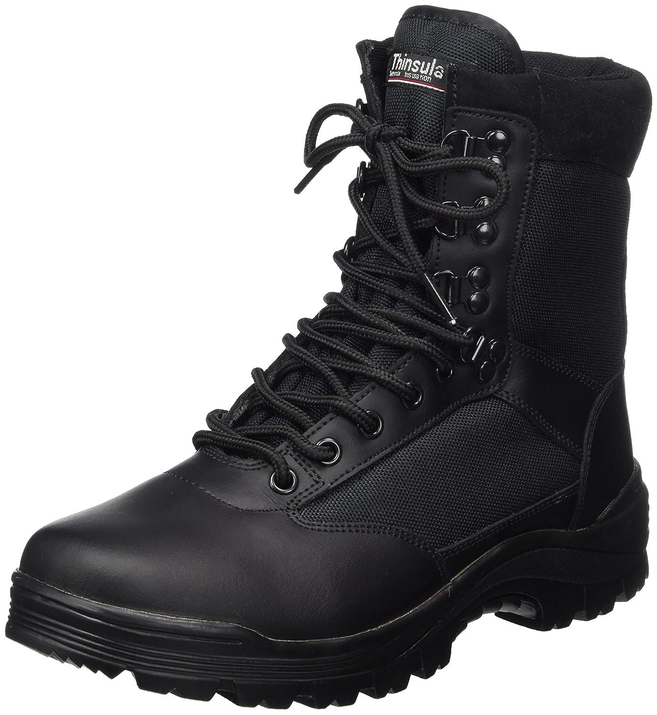 Mil-Tec SWAT Botas en Color Negro