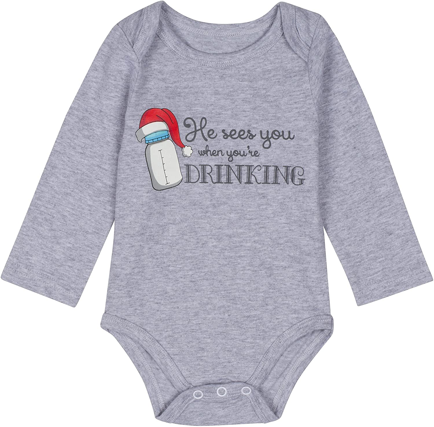 Novelty Themed Baby Grow//Suit Christmas WHO NEEDS SANTA WHEN YOU HAVE GRANNY