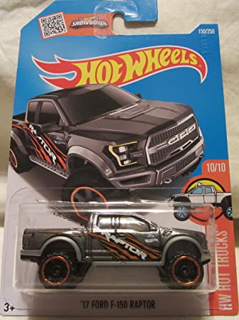 Amazon hot wheels hw hot trucks 1010 gray 17 ford f 150 raptor hot wheels hw hot trucks 1010 gray 17 ford f 150 raptor voltagebd Images
