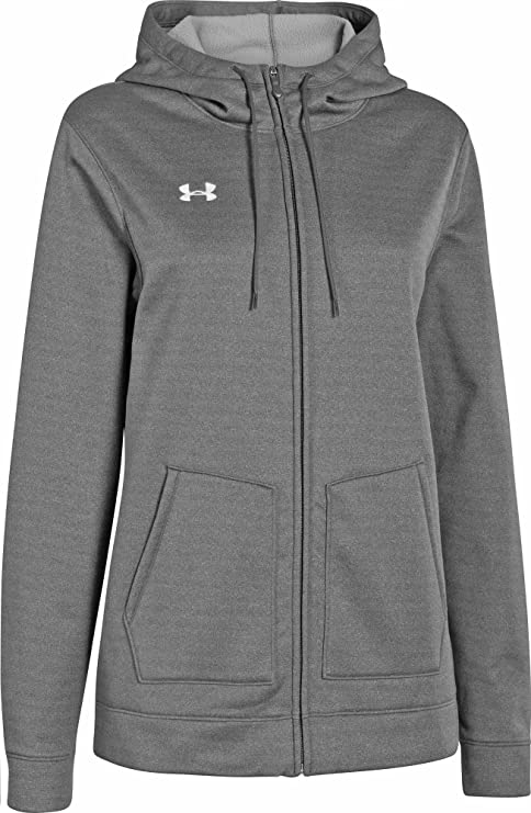 Under Armour Womens Storm Fleece Full Zip Hoody X-Small Carbon Heather