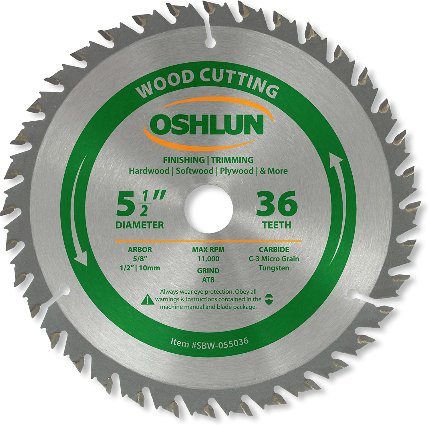 Oshlun ATB Finishing and Trimming Saw Blade