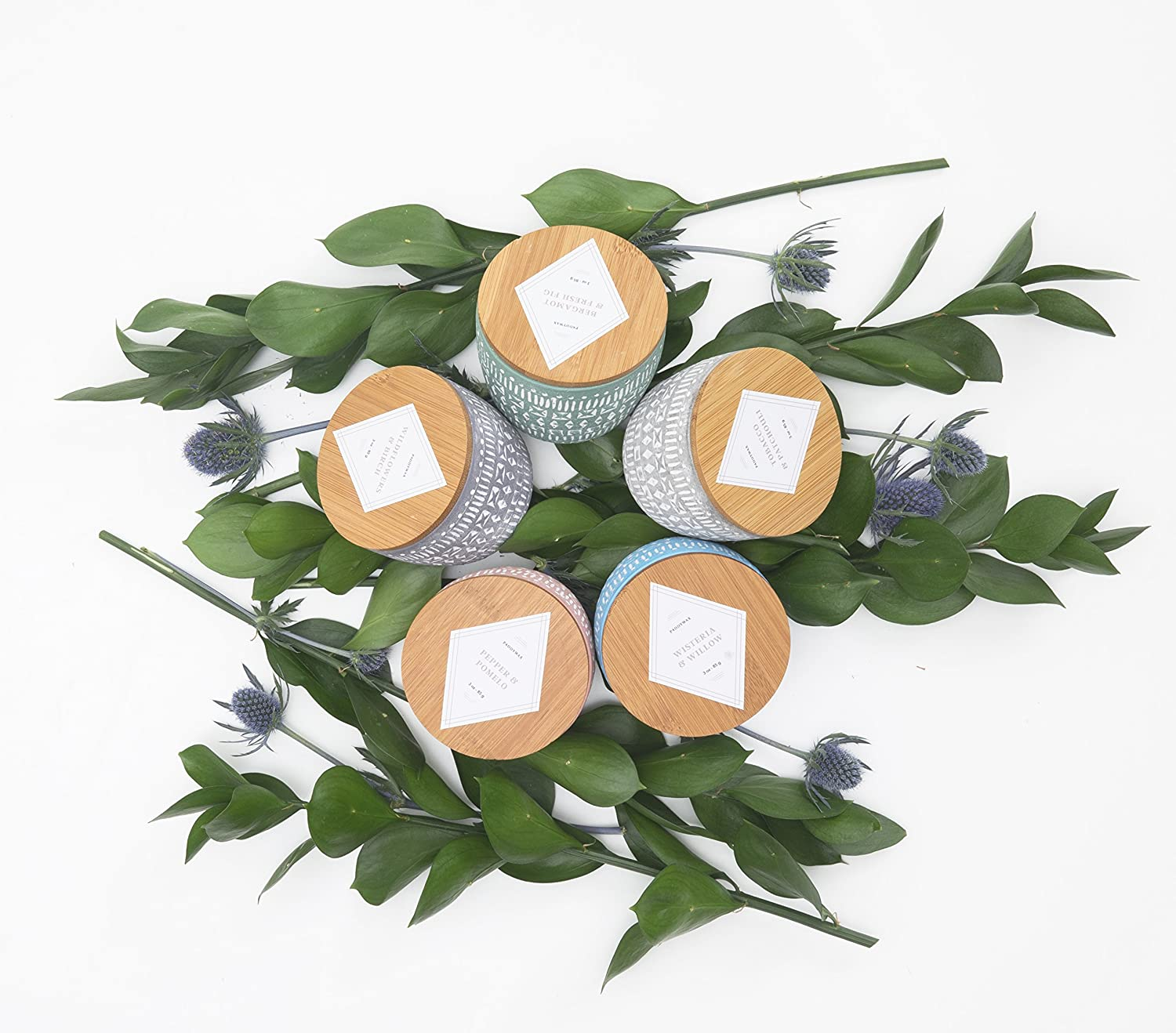 Paddywax Candles Sonora Collection Scented Soy Wax Candle 3-Ounce Wisteria and Willow