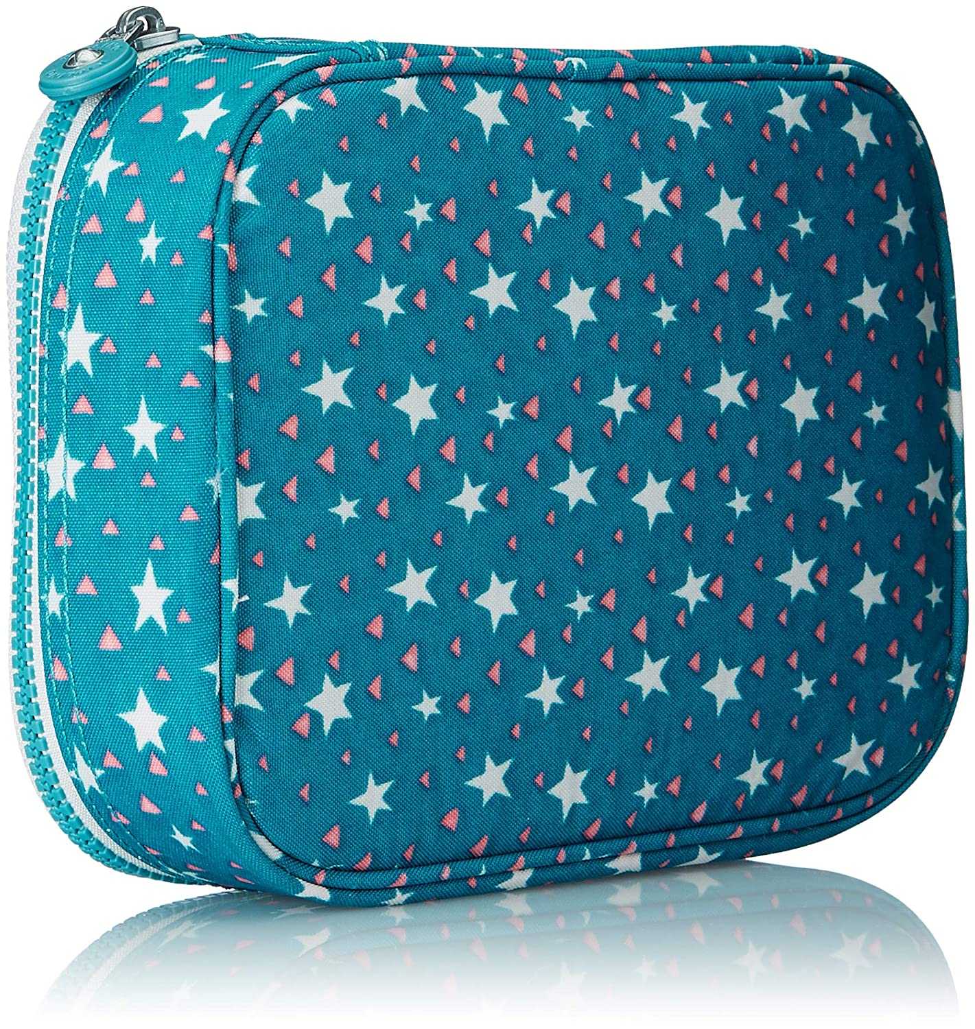 Kipling 100 PENS Pencil Cases, 21 cm, 1.5 liters, Multicolour (Cool Star Girl)