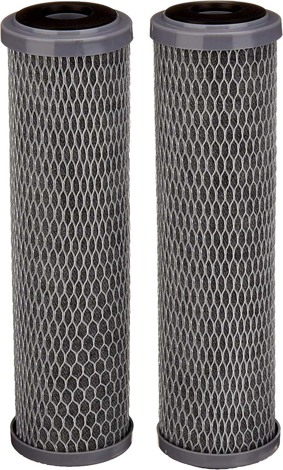 AmazonBasics AMZN-SCWH-5-2PK Standard Duty Water 15,000 Gallons, Equivalent to Culligan SCWH-5, 2-Pack Whole House Replacement Filter, White