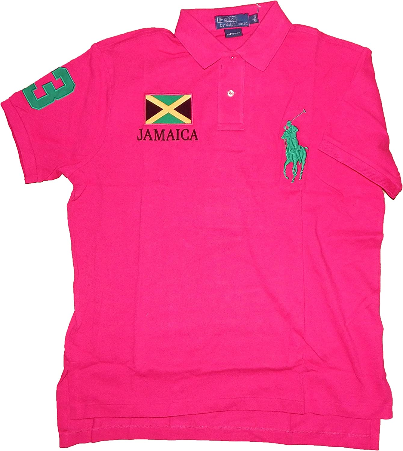 Polo Ralph Lauren – Polo para Hombre, Jamaica Team, Custom Fit ...