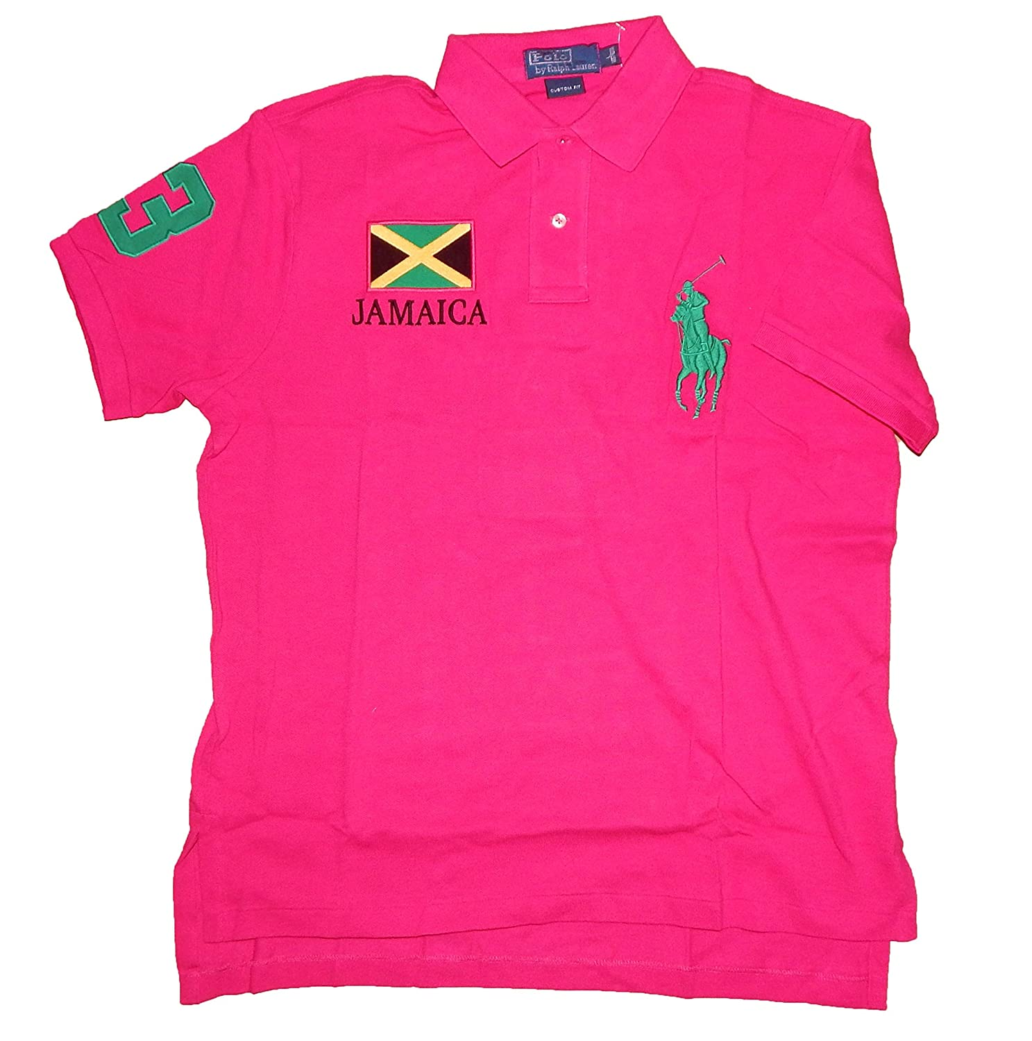 Polo Ralph Lauren - Polo para Hombre, Jamaica Team, Custom Fit ...