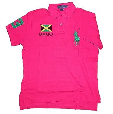 Polo Ralph Lauren – Polo para Hombre, Jamaica Team, Custom Fit ...