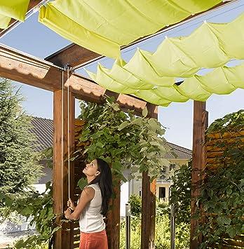 Windhager 36228 - Set de Montaje para toldo (Parasol, pérgola o jardín de Invierno), Color Plateado: Amazon.es: Jardín