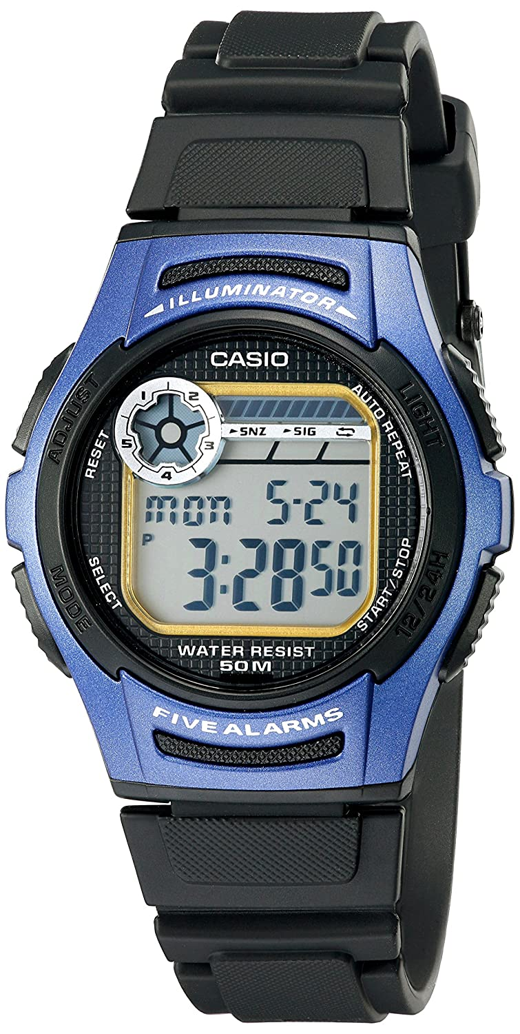 Buy Casio Mens W213 2avcf Sport Watch Online At Low Prices In India Selective Timer Alarm