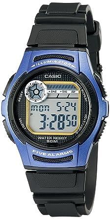 Casio W213-2AVCF - Reloj de Pulsera Hombre, Resina, Color ...