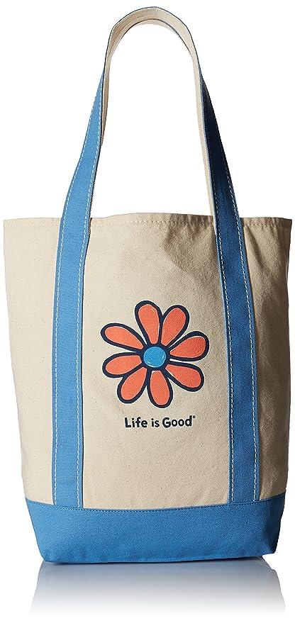 ad28e7baead9 Amazon.com   Life is Good A Carry On Canva Daisy Outdoor Backpacks ...