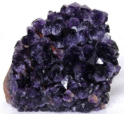Amazon com: Mine Treasures Rich Purple Amethyst Geode